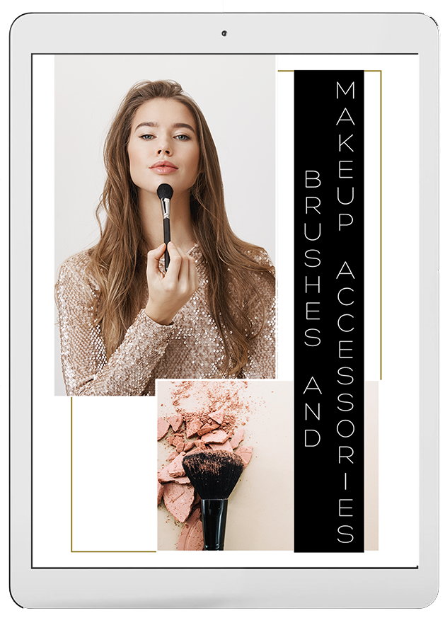 Book 3. Makeup brushes and accessories